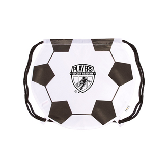 Customized GameTime! ® Soccer Ball Drawstring Backpack