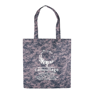 Customized Digital Camo Recycled Value Tote