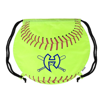 Customized GameTime! ® Softball Drawstring Backpack