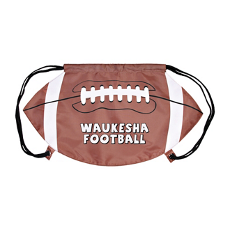 Customized GameTime! ® Football Drawstring Backpack