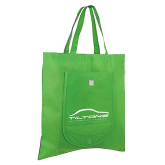 Customized Non Woven Fold 'n Go Tote Bag
