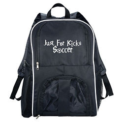 Customized Sportin' Match Ball Backpack