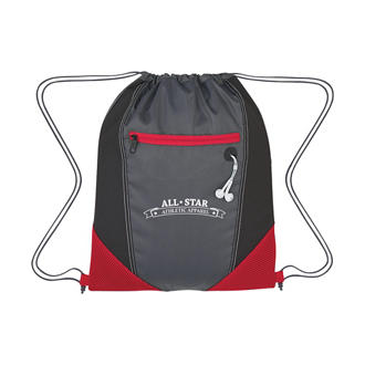 Customized Two-Tone Drawstring Sports Pack
