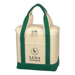 Customized Small Cotton Canvas Kooler Bag