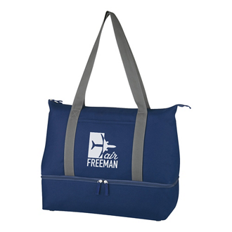 Customized Mission Dual Compartment Tote Bag