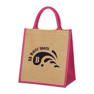 Customized Escape Jute Tote Bag