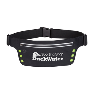Customized Running Belt with Safety Strip and Lights