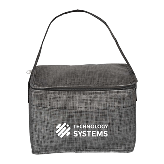 Customized Insulated Grayson Cooler Lunch Bag - Front Pocket