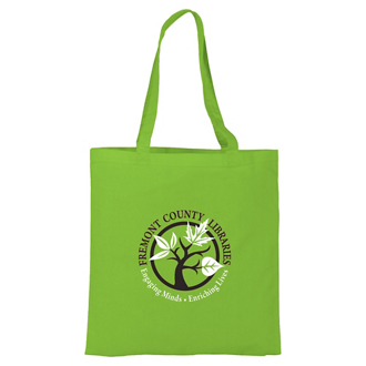 Customized Basic Cotton Tote - 4 oz
