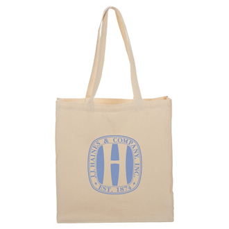 Customized Odessa Cotton Tote - 8 oz