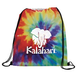 Customized Tie Dye Drawstring Sportspack