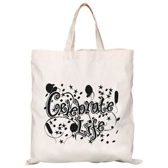Customized Convention Tote with Short Strap