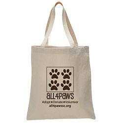 Customized Natural Promotional Tote Bag