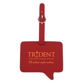 Customized Text Luggage Tag