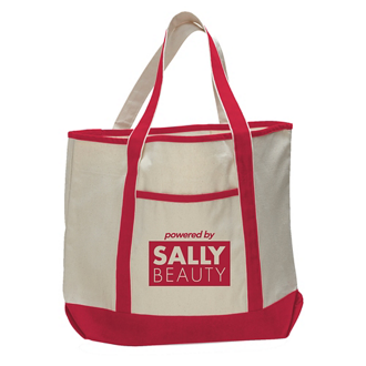 Customized Colored Deluxe Tote Bag