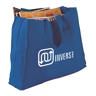 Customized Colored Canvas Gusset Tote Bag