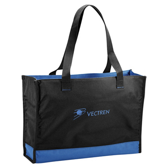 Customized Colorband Carry-All Tote