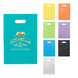 Customized Diana Frosted Plastic Bag - 9 1/2 x 14