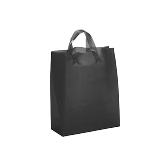 Customized Iris Frosted Shopper Tote 13 x 17