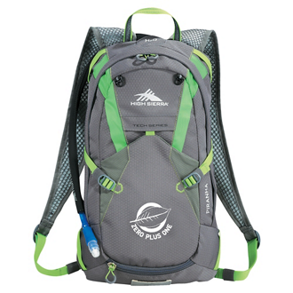 Customized High Sierra® Piranha 10L Hydration Pack