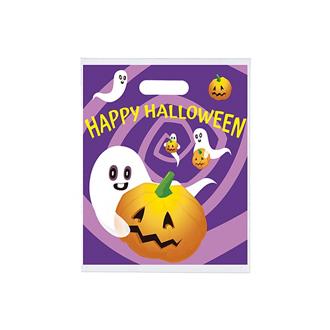 Customized Purple Daze Full Colour Plastic Bag - 12 x 15
