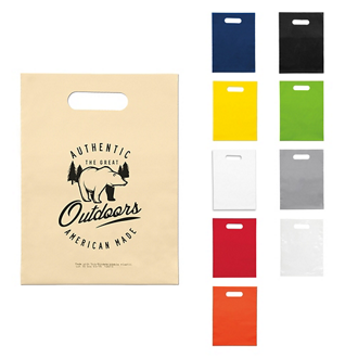 Customized Oxo-Biodegradable Die Cut Bag - 9 x 12