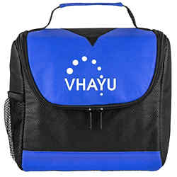 Customized Centre Divider Lunch Bag - Heat Transfer