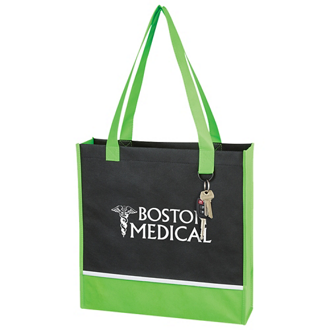 Customized Non-Woven Accent Tote Bag