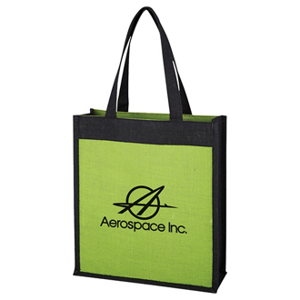 Customized Laminated Jute Tote Bag