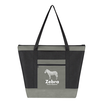 Customized Non-Woven Uptown Tote Bag