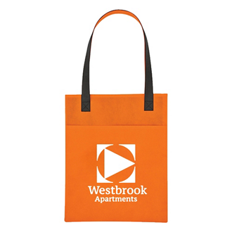 Customized Non-Woven Turnabout Brochure Tote Bag