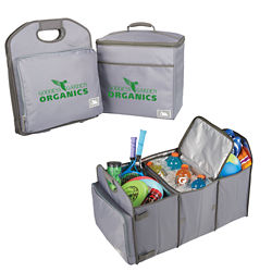 Customized Arctic Zone® Trunk Organizer with 40 Can Cooler