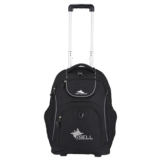 Customized High Sierra Powerglide Wheeled Computer Backpack