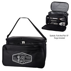 Customized BBQ Set Cooler Bag