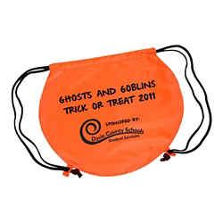 Customized Pumpkin Drawstring Backpack