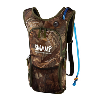 Customized 2 Liter Camo Quench Hydration Pack