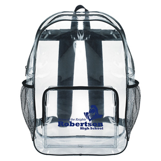 Customized Good Value™ Clear  Backpack