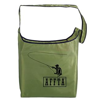 Customized Rpet Fold-Away Sling Bag