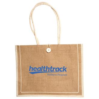 Customized Milan Jute Tote Bag