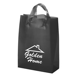 Customized Zeus Frost Colour Plastic Bag-Loop Handles 10