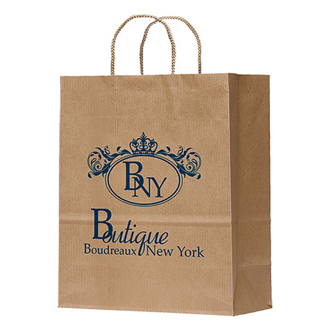Customized Manhattan Paper Bag