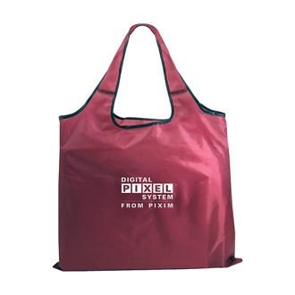 Customized RPET Fold Away Carryall Tote Bag
