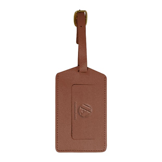 Customized Leather Luggage ID Tag