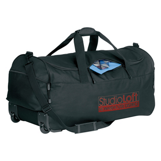 Customized Wheeled Duffel Bag