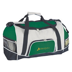 Customized Good Value™ Tri-Pocket Sport Duffel Bag