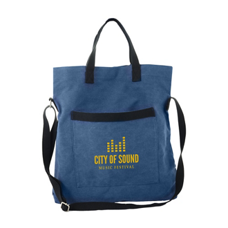 Customized Campus Flop Over Tote Bag
