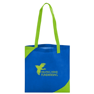 Customized Polypro Printed Accent Tote Bag