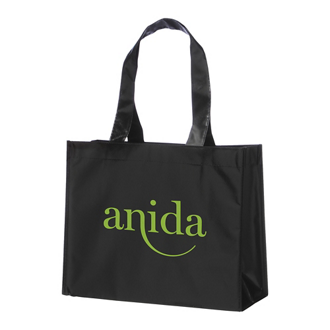 Customized Rumba Laminated Non-Woven Shopper Tote