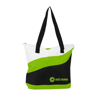 Customized Wave Tote Bag