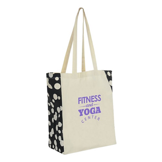 Customized Printed Side Cotton Tote Bag